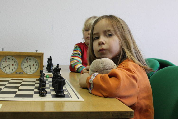 Mina belegte bei ihrem ersten Turnier den 5. Platz!
