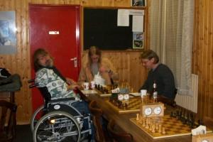 Lippianowski mit Betreuer gegen Arne Hampel