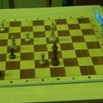 Schwarz am Zug Schwietzer-Pilgrim; Ob gewonnen oder nicht, Schwarz sollte Ke5-f6 mit Ke6 verhindern.