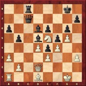 Fragment 4: Welchen klassischen Weg wählte Schwarz, um seinen Vorteil in einen Punkt zu verwerten?