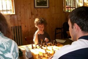 David Granzin bei seinem ersten großen Turnier!