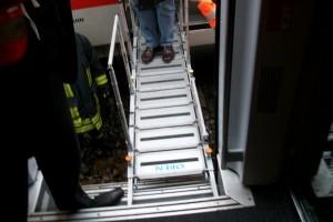 Die Evakuierungsbrücke