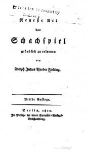 Titelblatt 3. Auflage, 1812