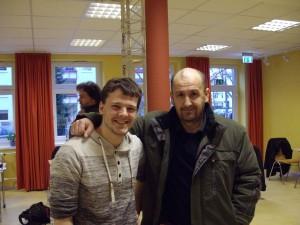 Adrian Lock und Mirza Hasic