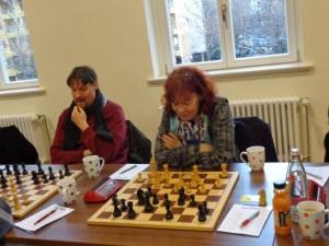 Wolfgang Großmann und Brigitte Große-Honebrink spielen bisher eine sichere und gute Saison.