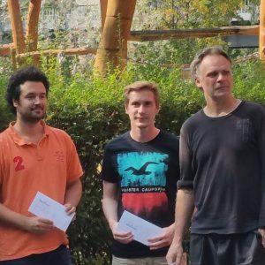 Weiter ging es mit der Ratinggruppe 2099-1920 mit Fabian Ferser, Benno Zahn und Thomas Heerde...
